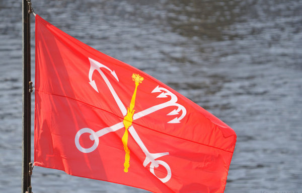 Флаг санкт-петербурга картинка в хорошем качестве