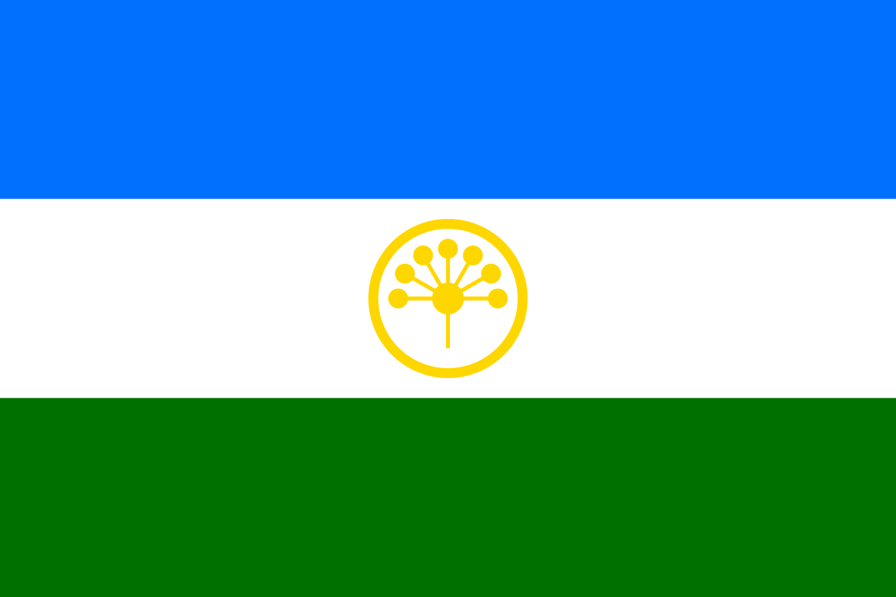 Флаг Башкортостана