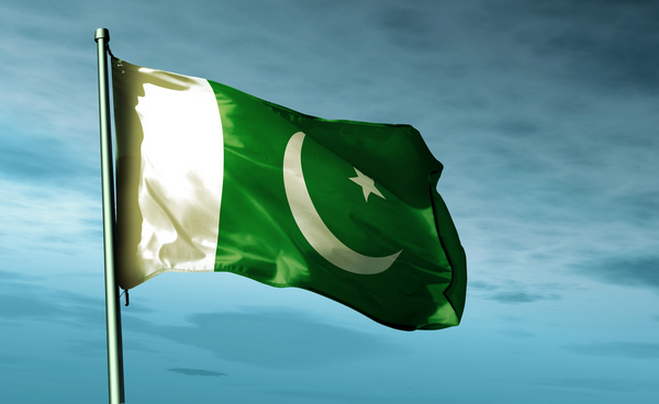 Пакистанский флаг